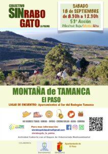 Freiwilligenaktion zur Entfernung des Rabogato Montaña de Tamanca El Paso